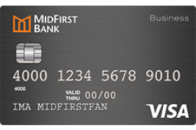 MidFirst Bank Business Secured Card