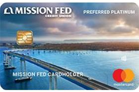 Mission Federal Credit Union Preferred Platinum Mastercard