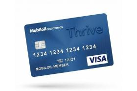 MobilOil Credit Union Visa Platinum