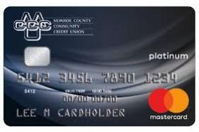 Monroe County Community Credit Union Mastercard Platinum Reward