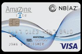 National Bank of Arizona Amazing Rate Visa Credit Card