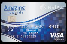National Bank of Arizona Amazing Rewards Visa Credit Card