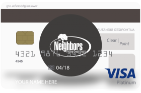 Neighbors Federal Credit Union Point Visa Credit Card
