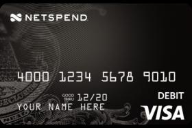 Netspend Visa Prepaid Card