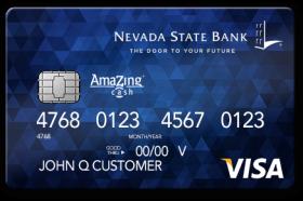 Nevada State Bank Amazing Cash Visa Credit Card