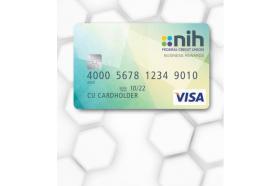 NIH Federal Credit Union Visa Business Rewards Credit Card