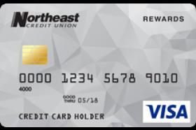 Northeast Credit Union Rewards VISA® Credit Card