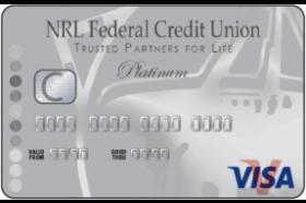NRL Federal Credit Union Visa Platinum Credit Card