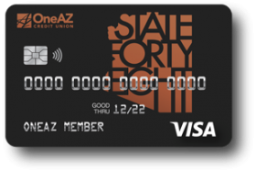OneAZ Credit Union Visa State Forty Eight Credit Card
