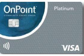 OnPoint Community Credit Union Platinum Visa Credit Card