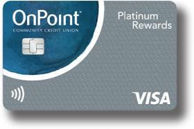 OnPoint Community Credit Union Platinum Visa Rewards Credit Card