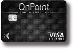 OnPoint Community Credit Union Signature Visa Rewards Credit Card