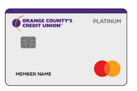 Orange Countys Credit Union Mastercard Platinum Credit Card