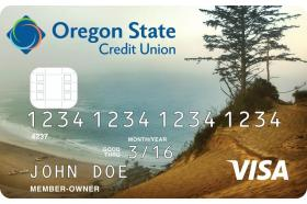 Oregon State Credit Union Visa Value Credit Card