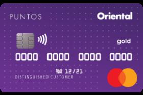 Oriental Bank MasterCard Gold PUNTOS Credit Card