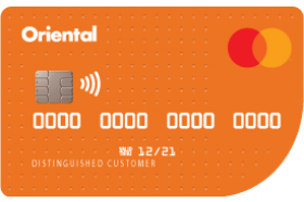 Oriental Bank MasterCard Secured Credit Card