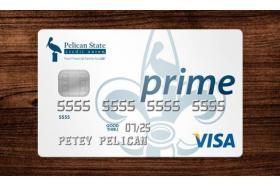 Pelican State Credit Union Prime Visa Credit Card