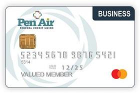 Pen Air Federal Credit Union Business Mastercard Credit Card
