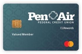 Pen Air Federal Credit Union CU Rewards Mastercard Credit Card