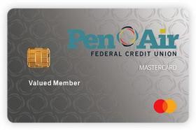 Pen Air Federal Credit Union Mastercard Credit Card