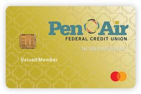 Pen Air Federal Credit Union Secured Mastercard Credit Card
