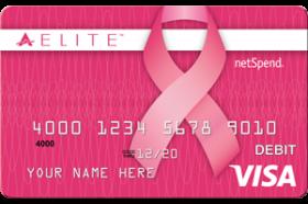 Pink ACE Elite Visa Prepaid Card