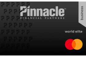 Pinnacle Financial Partners Mastercard Business World Elite Credit Card
