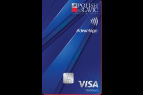 Polish and Slavic Federal Credit Union VISA Platinum Advantage Credit Card