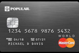 Popular Bank Preferred World Mastercard®