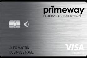 PrimeWay Federal Credit Union Business Real Rewards Visa Credit Card