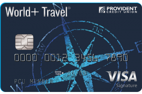 Provident Credit Union Travel Visa Signature Credit Card