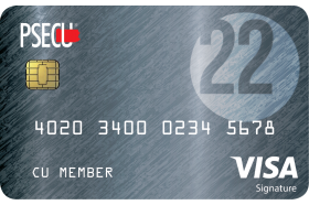 PSECU Founder's Credit Card