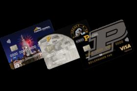 Purdue Federal Credit Union Visa Signature Credit Card