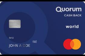 Quorum Federal Credit Union Cash Back World Mastercard Credit Card