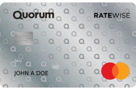 Quorum Federal Credit Union RateWise Mastercard Credit Card