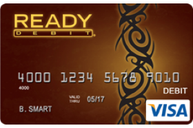 ReadyDebit Visa Latte Control Prepaid Card