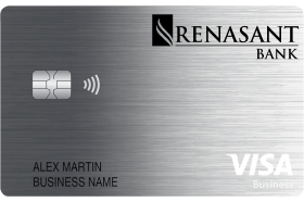 Renasant Bank Visa® Business Real Rewards Credit Card