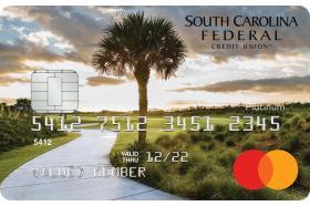 South Carolina Federal Credit Union Mastercard Cash Rewards Credit Card