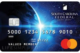 South Carolina Federal Credit Union Mastercard World Credit Card