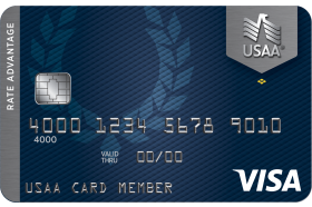 USAA Rate Advantage Visa® Platinum Credit Card