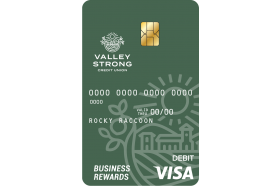 Valley Strong Credit Union Business Visa Rewards