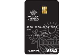 Valley Strong Credit Union Platinum Card