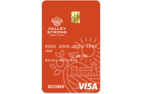 Valley Strong Credit Union Secured Card
