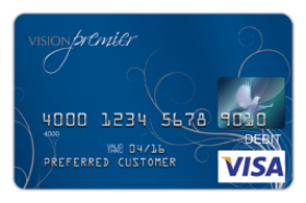 Vision Premier Visa Prepaid Card