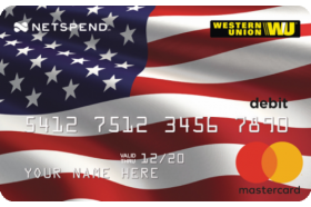 Western Union Netspend Prepaid Mastercard