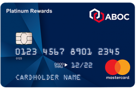 Amalgamated Bank of Chicago Platinum Rewards MasterCard®