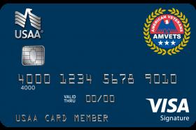 American Veterans USAA Rewards™ Visa Signature® Card