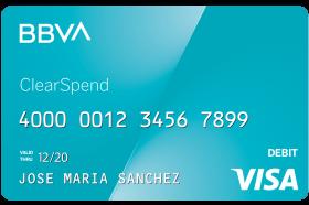 BBVA ClearSpend Prepaid Card