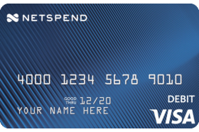 Blue Netspend® Visa® Prepaid Card