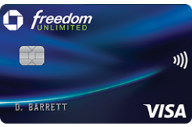 Chase Freedom Unlimited Visa